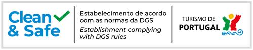 Clean & Safe - Estabelecimento de acordo com as normas da DGS